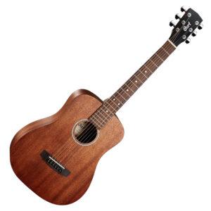 Cort AD-Mini M Mahogany Travellers Acoustic Guitar w/Bag