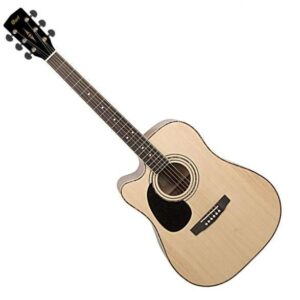 Cort AD880CE-LH Left-Handed Acoustic-Electric Guitar w/Cutaway