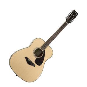 Yamaha FG820-12 Dreadnought 12 String Acoustic Guitar Natural