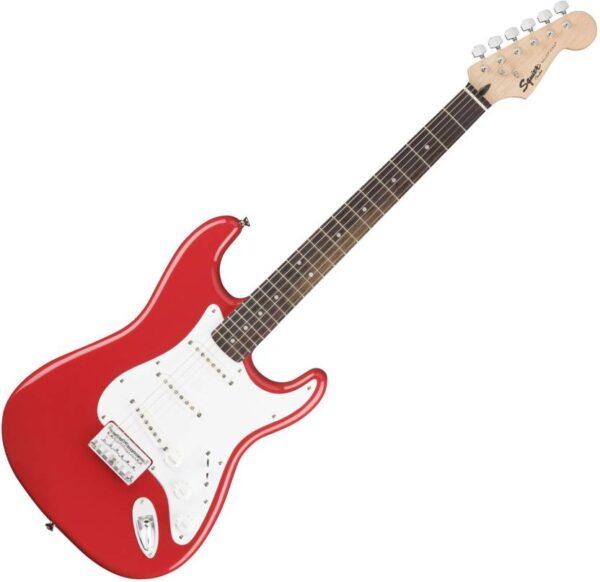 Fender Squier Bullet SSS Hardtail Fiesta Red