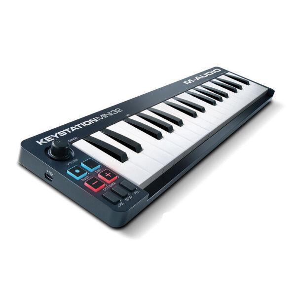 M Audio Keystation Mini 32 32 Key Portable Keyboard Controller