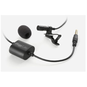 IK Multimedia iRig Mic Lav Microphone for iPhone and Android