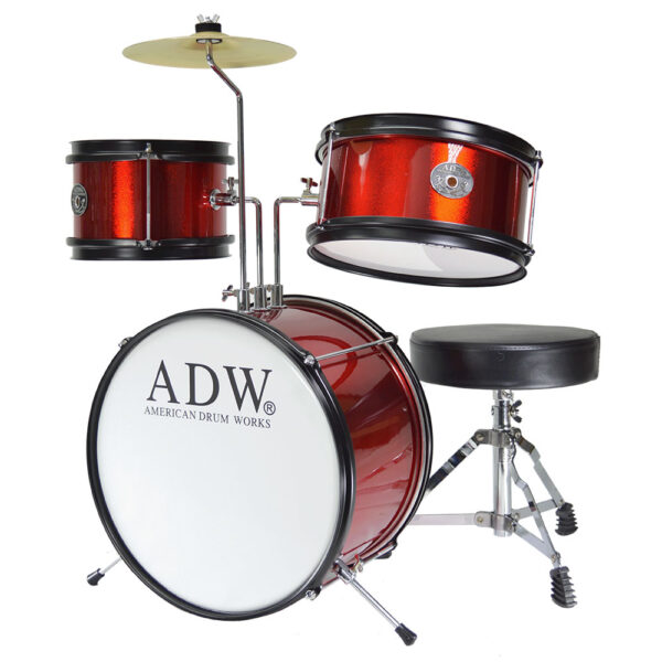 ADW 3 Piece Junior Drumkit