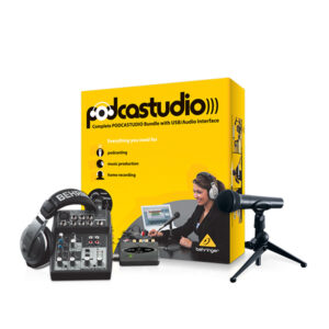 Behringer PODCASTER Studio Bundle