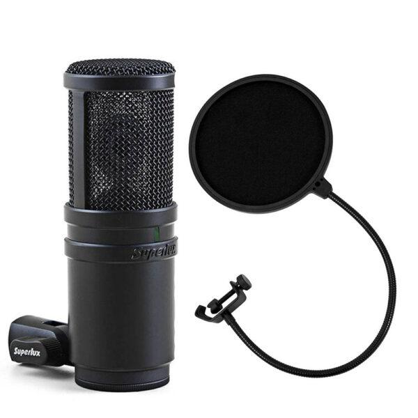 Superlux E205U Large Diaphragm USB Condenser Microphone