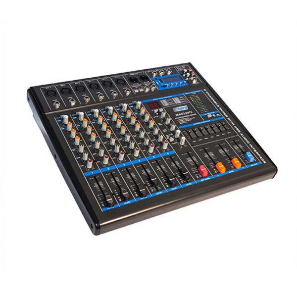Hybrid M602 UBTX 6 Channel Analogue Mixer
