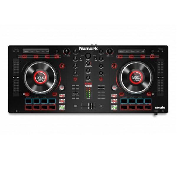 Numark Mixtrack Platinum DJ Controller Jog Wheel Display