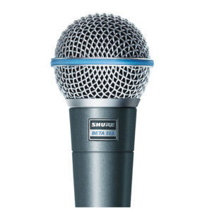 Shure Beta 58A Dynamic Super Cardioid Microphone