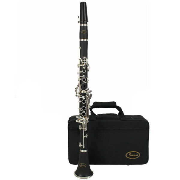 Sonata Student Clarinet Bb Clarinet with Case