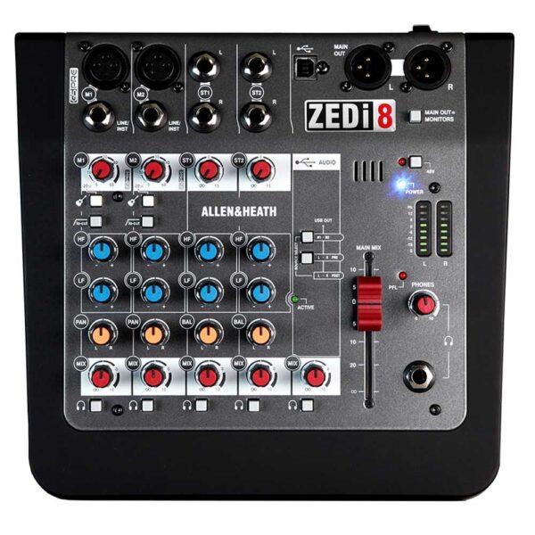 Allen & Heath ZEDi8 FX Compact 6 Input Analogue Mixer