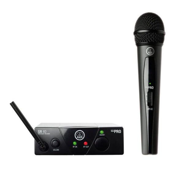 AKG WMS40 Mini V ISM1 Wireless Handheld System
