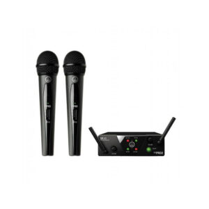 AKG WMS40 Mini2 V ISM23 Dual Wireless Handheld System