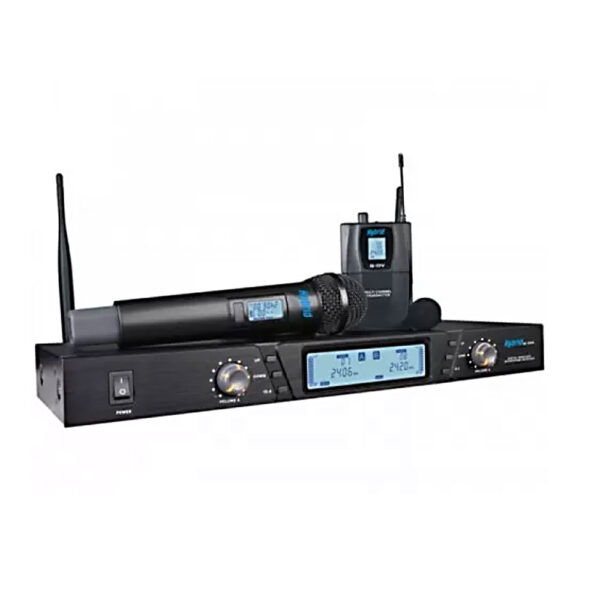 G DV Handheld and Lapel Wireless System