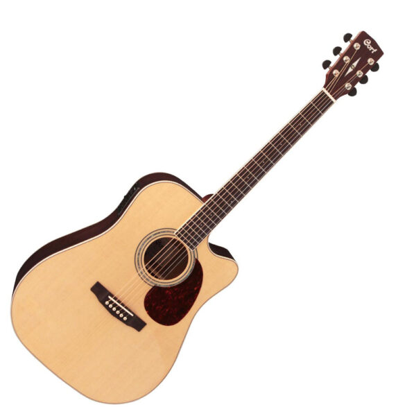 Cort MR710F NS Natural Satin Acoustic-Electric Guitar