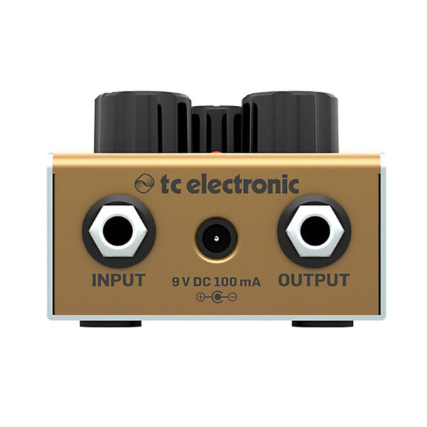 TC Electronic Cinders Overdrive Pedal - Rear