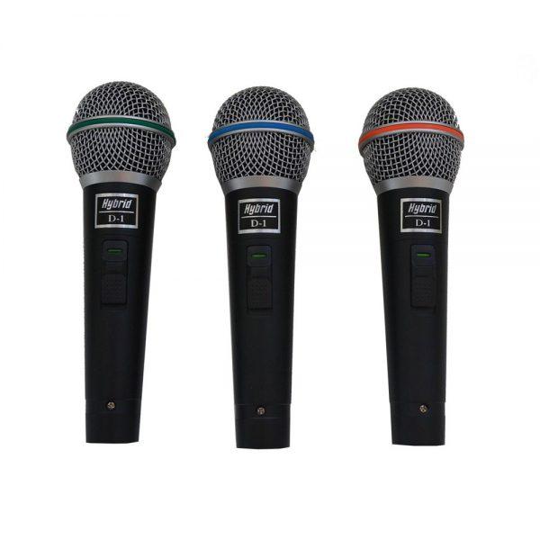Hybrid D1 3 Pack Microphone Set