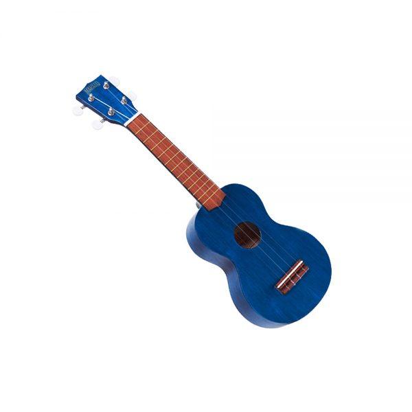 Mahalo MK1 Soprano Ukulele in Trans Blue