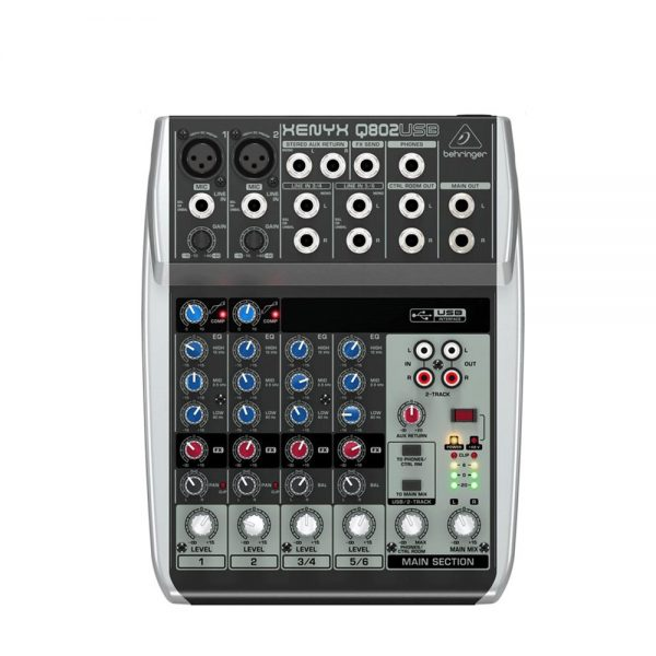 Behringer Xenyx 802 4 Channel Mixer