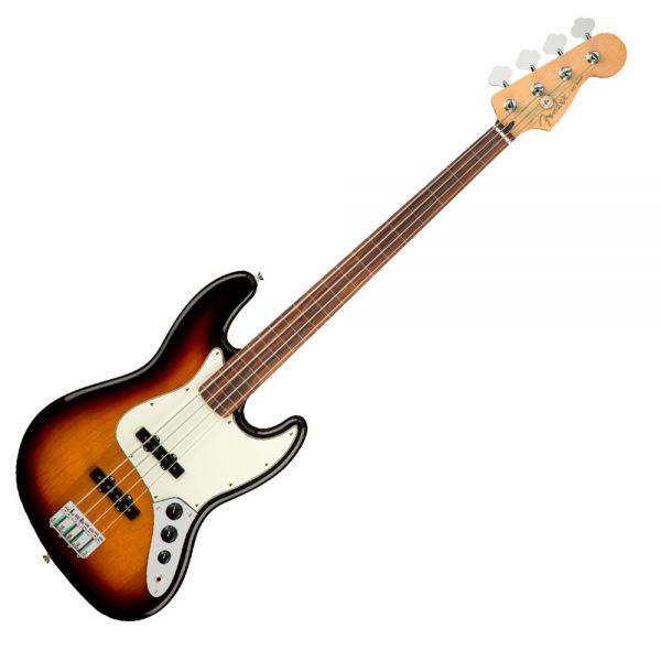 Fender Player Jazz 4 String Bass in Tobacco Sunburst
