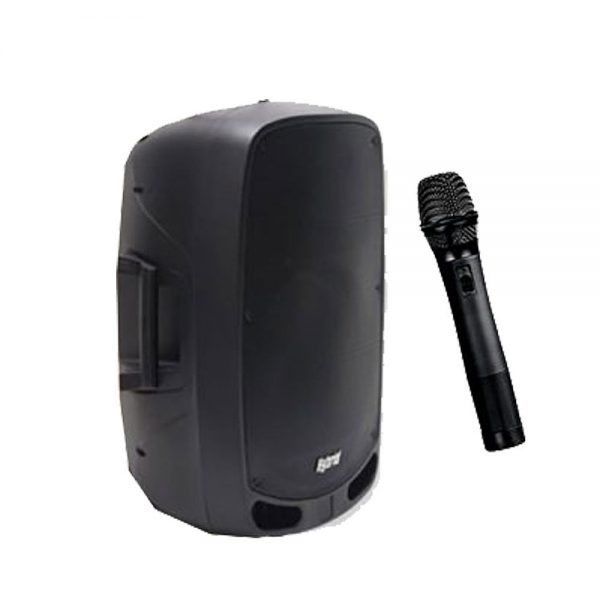 Hybrid PA15B Portable Powered Speaker with Wireless Microphone